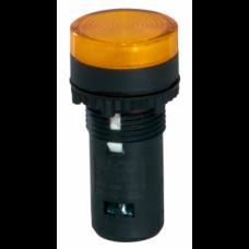 Лампа контрольная 48V желтая