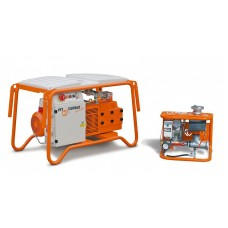 SILOMAT trans plus DF Q 105, переносной, 400 В, 3 фазы, 50 Гц с автоматическим надуванием силоса