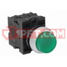 Кнопка М22 зеленая